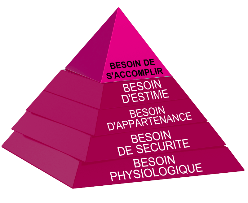 coaching personnel pyramide des besoins Serenycap coaching